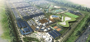 Sustainable City in Dubai Land 500 Villas, Town house